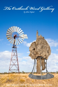 Windmill in Outback Queensland, Australia